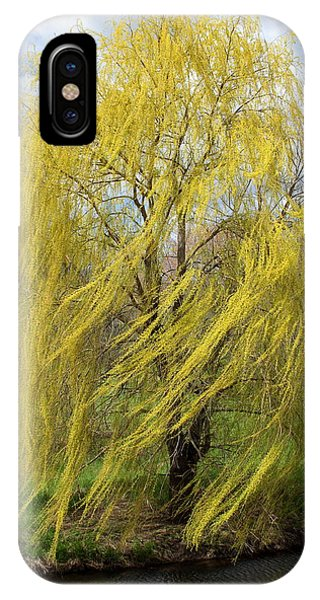 Wind In The Willow IPhone Case
