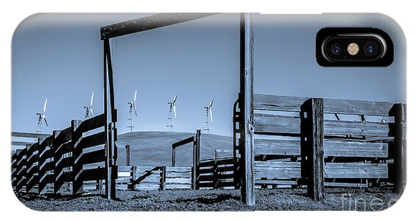 Wind Machines Altamont Pass IPhone Case