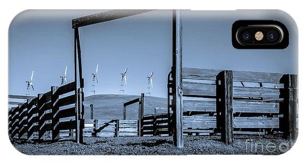 Wind Machines Altamont Pass IPhone Case