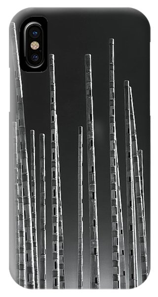 Organ iPhone Case - Wind Organ by Wim Lanclus