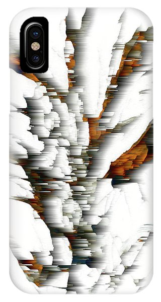 IPhone Case featuring the painting Wind Series 05.072311windblastscvss by Kris Haas