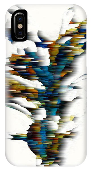 IPhone Case featuring the painting Wind Series 08.072311wscvss by Kris Haas