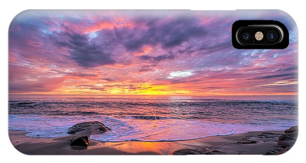 Windansea Beach Sunset IPhone Case