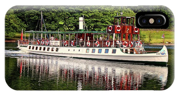Kerala iPhone Case - Windermere Steamer by Martin Newman