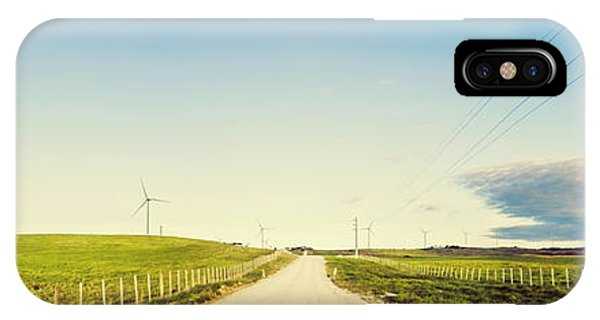 Cause iPhone Case - Windfarm Way by Jorgo Photography - Wall Art Gallery
