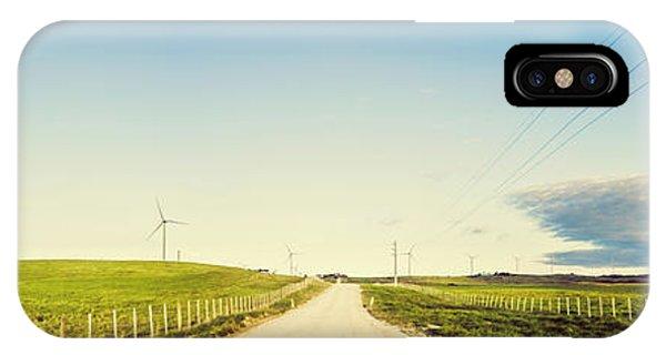 Energy iPhone Case - Windfarm Way by Jorgo Photography - Wall Art Gallery