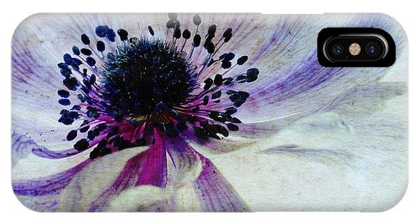 Susann Serfezi iPhone Case - Windflower by AugenWerk Susann Serfezi