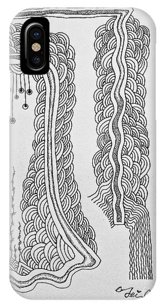 Winding  IPhone Case