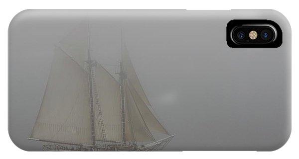 Windjammer In Fog IPhone Case