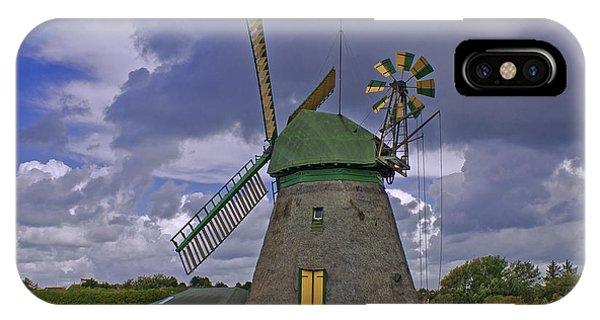 Windmill Amrum Germany IPhone Case