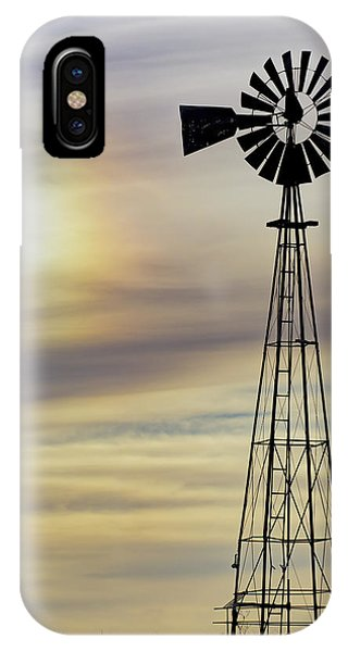 Windmill And Sun Dog IPhone Case