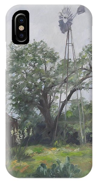 Windmill At Genhaven IPhone Case