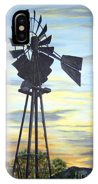 Windmill Capture The Wind IPhone Case