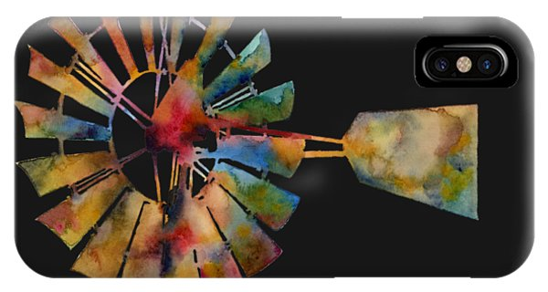 T Shirts iPhone Case - Windmill by Hailey E Herrera