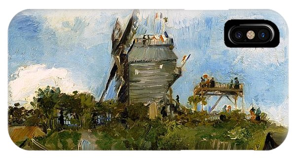 Windmill In Farm IPhone Case