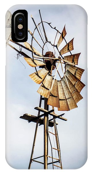 Windmill In The Sky IPhone Case