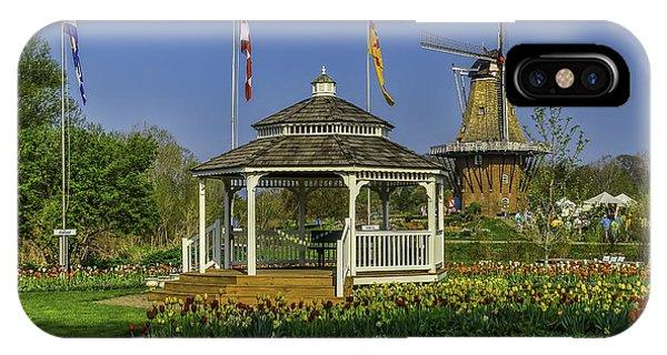 Windmill Island Gardens  IPhone Case