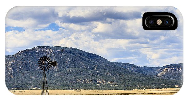 Windmill New Mexico IPhone Case