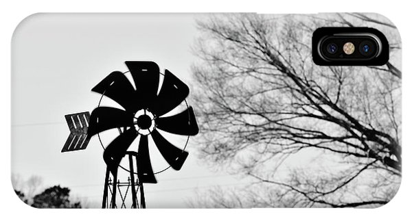 Windmill On The Farm IPhone Case