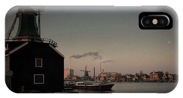 Windmill Town IPhone Case