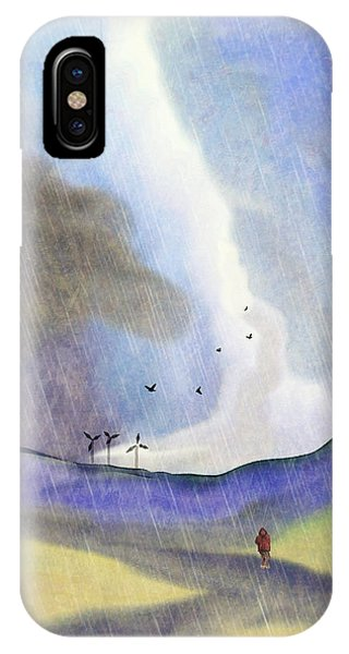 Windmills Of The Mind IPhone Case