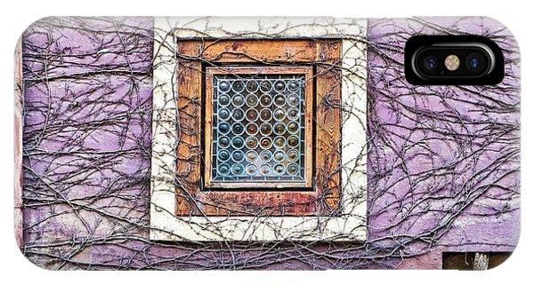 Window And Vines - Prague IPhone Case