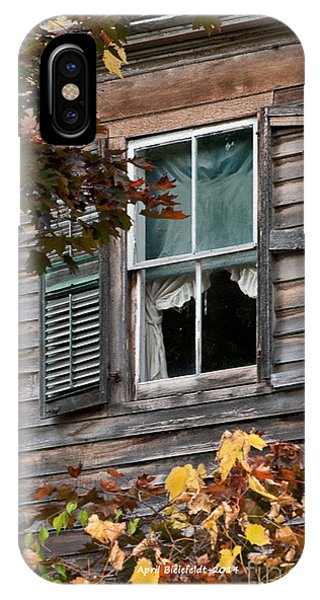 iPhone Case - Window by April Bielefeldt