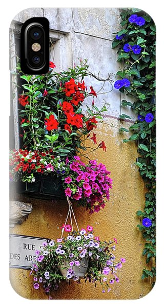 Window Garden In Arles France IPhone Case