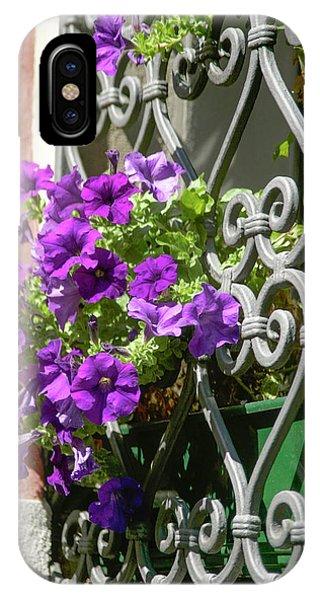 Window In Bloom IPhone Case