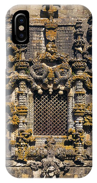 Window In Convent Of Christ - Tomar IPhone Case
