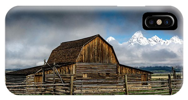 IPhone Case featuring the photograph Window In The Storm by Scott Read