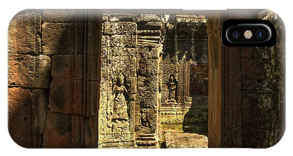 Window Into Angkor Wat IPhone Case