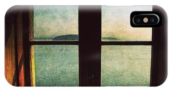 Window Overlooking The Sea IPhone Case