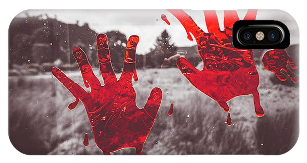 Zombies iPhone Case - Window Pain by Jorgo Photography - Wall Art Gallery