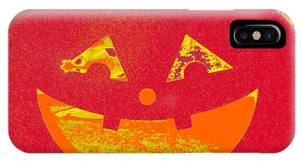 Window Pumpkin #4 IPhone Case