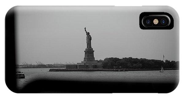 Window To Liberty IPhone Case