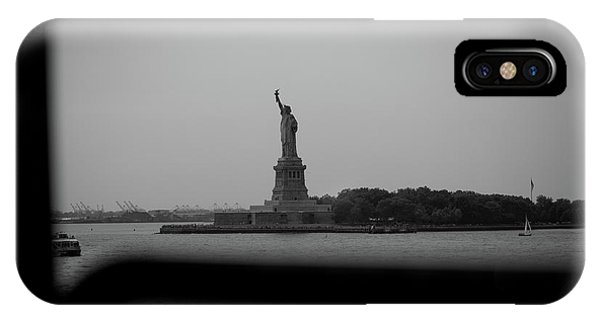 Window To Liberty IPhone Case