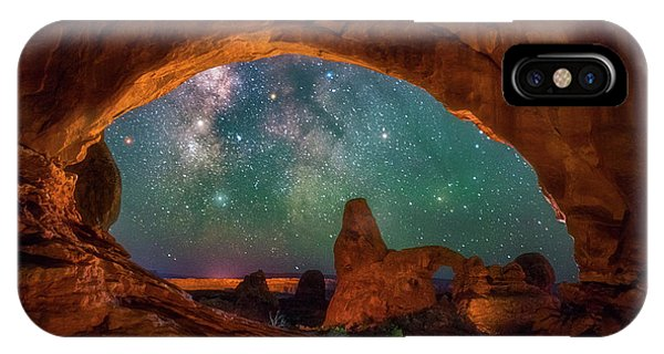 Window To The Heavens IPhone Case