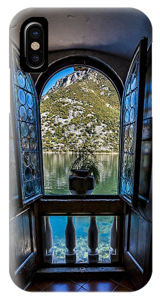 Window To The Lake IPhone Case