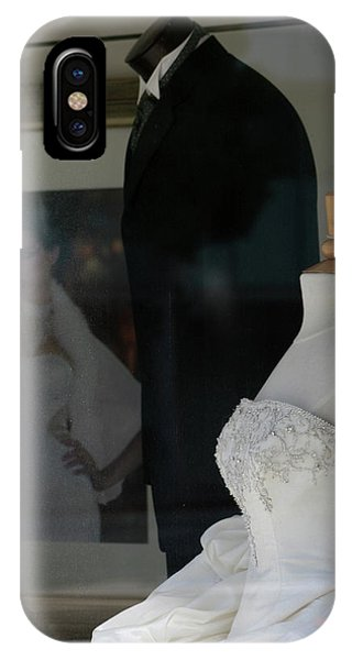 Window Wedding Attire IPhone Case