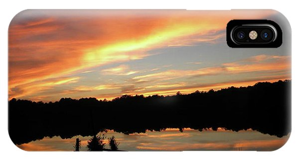 Windows From Heaven Sunset IPhone Case