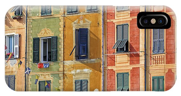 Windows Of Portofino IPhone Case