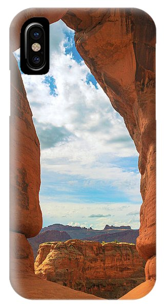 Windows Through Delicate Arch IPhone Case