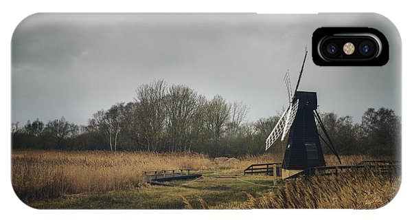 IPhone Case featuring the photograph Windpump by James Billings