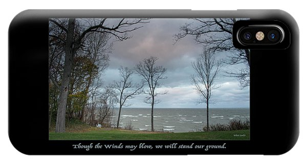 Winds May Blow IPhone Case