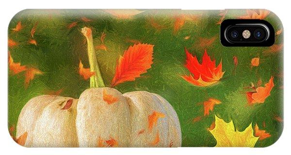 Winds Of Autumn IPhone Case