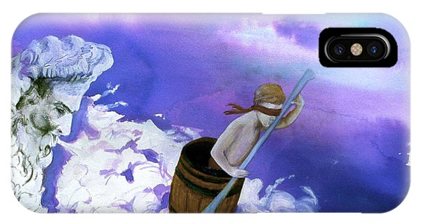IPhone Case featuring the painting Winds Of Fate  by Rene Capone
