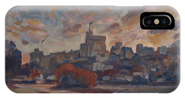 Briex iPhone Case - Windsor Castle Along The Thame by Nop Briex