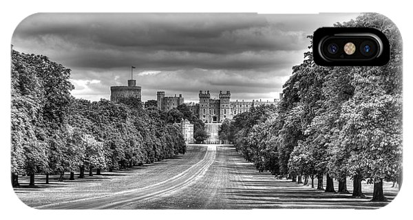 Windsor Castle  Infrared IPhone Case