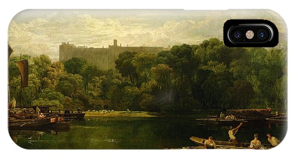 Windsor Castle From The Thames IPhone Case